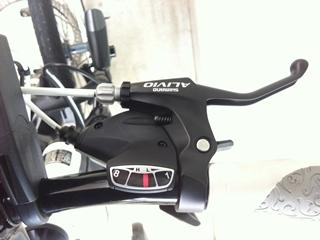 自転車の 3輪自転車 電動 パナソニック : 電動自転車ハリヤの8スピード ...
